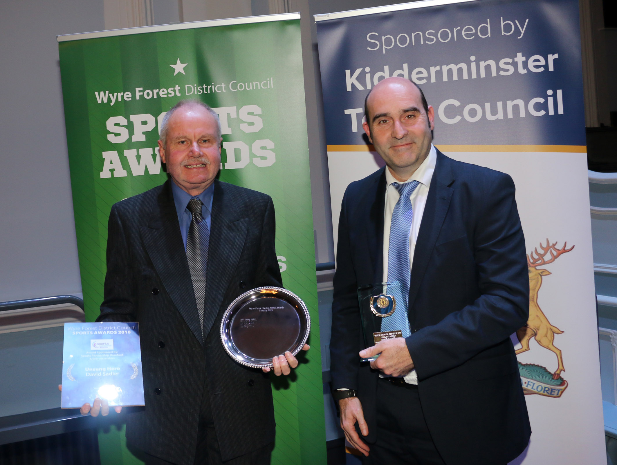 KTC Unsung Hero – Wyre forest Sports awards